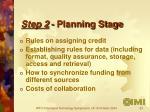 step 2 planning stage