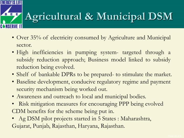 Agricultural & Municipal DSM