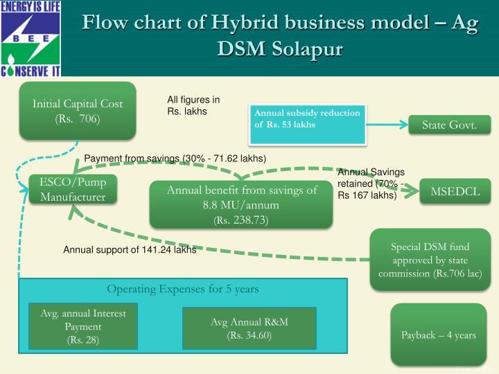 Flow chart of Hybrid business model – Ag DSM