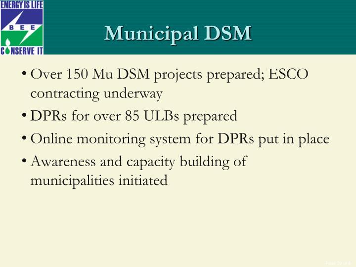Municipal DSM