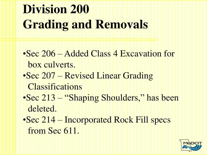 Division 200