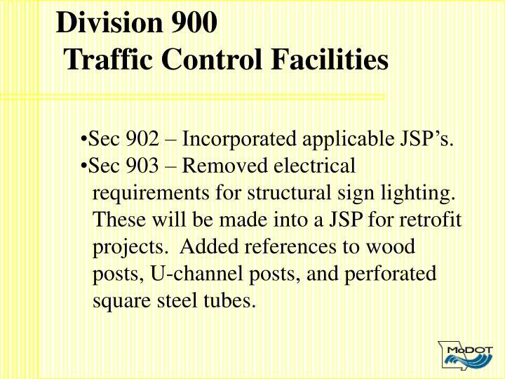 Division 900