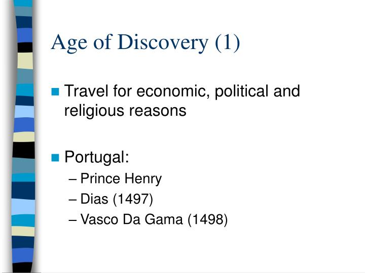 Age of Discovery (1)