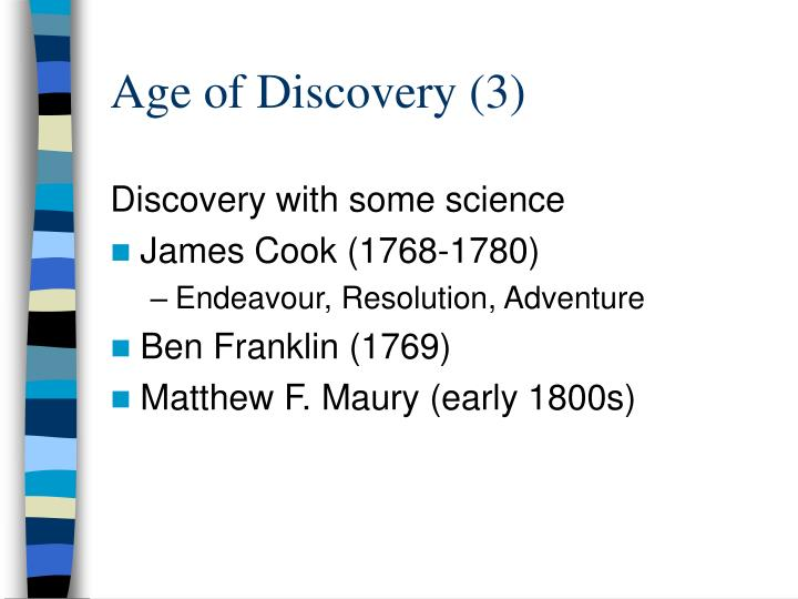 Age of Discovery (3)