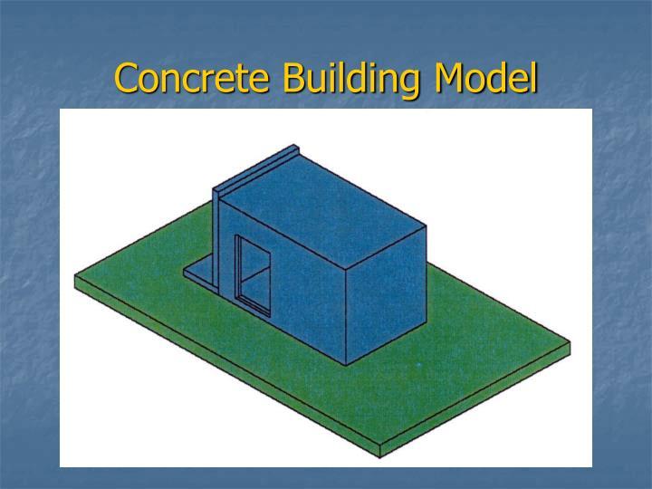 Concrete Building Model