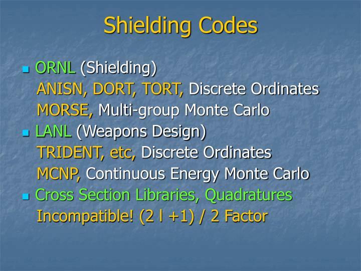 Shielding Codes