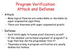 program verification attack and defense2