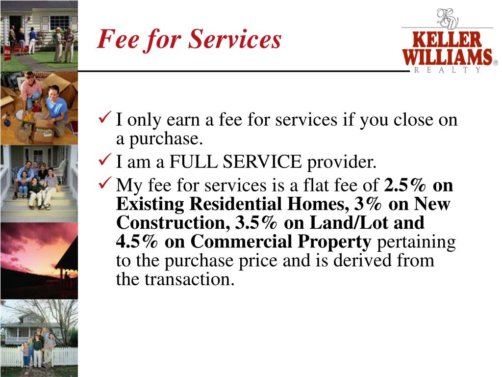 Fee for Services