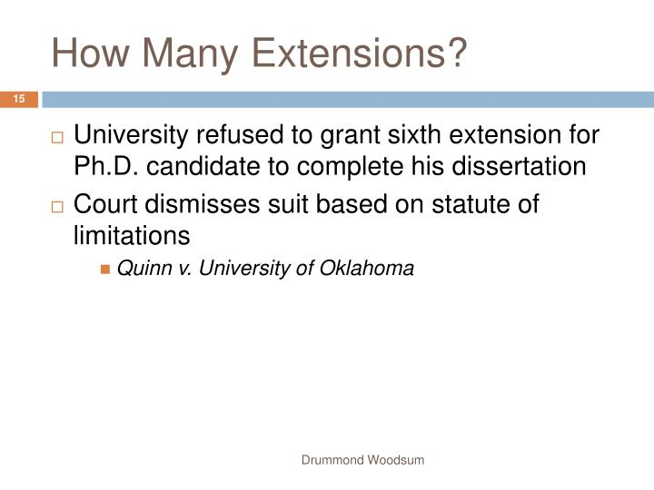 How Many Extensions?