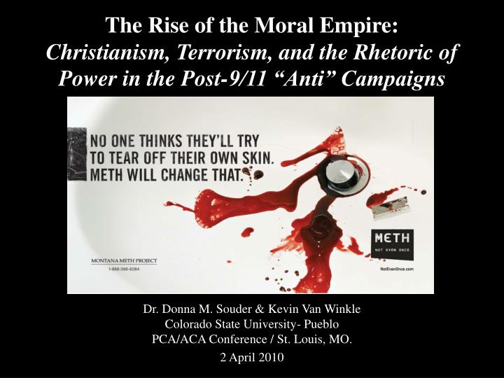 The Rise of the Moral Empire: