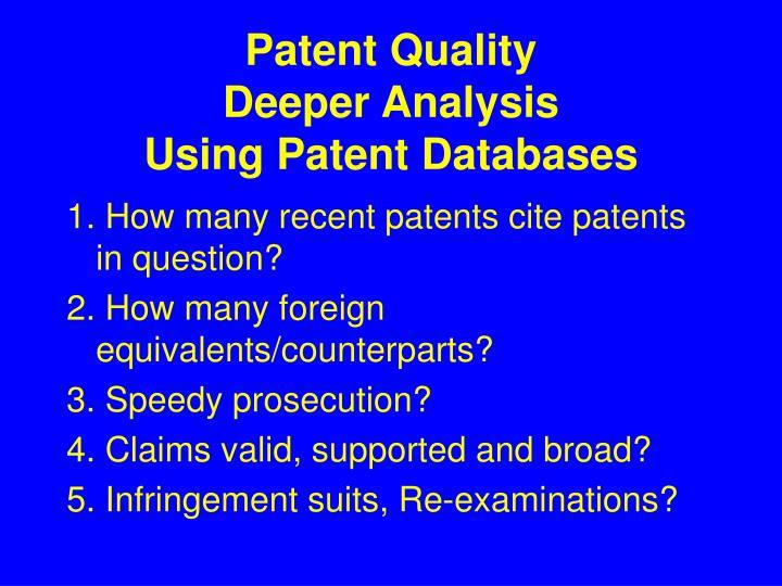 Patent Quality