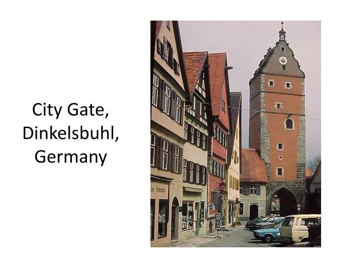City Gate, Dinkelsbuhl, Germany