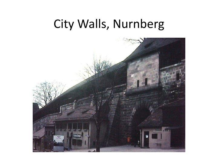 City Walls, Nurnberg