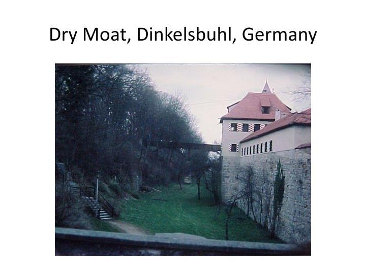 Dry Moat, Dinkelsbuhl, Germany