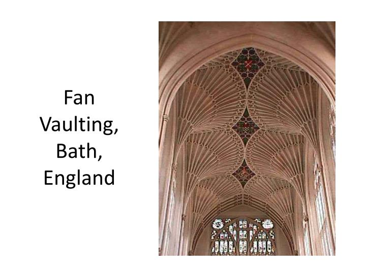 Fan Vaulting, Bath, England