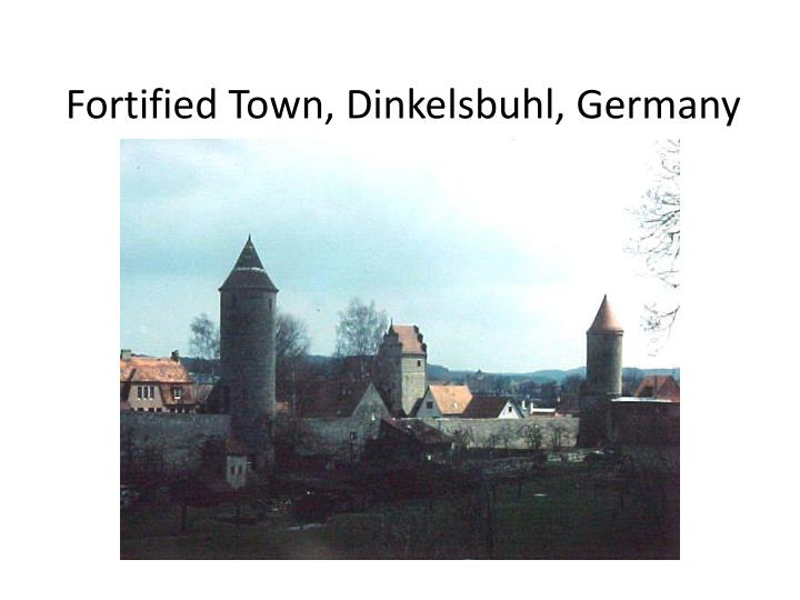 Fortified Town, Dinkelsbuhl, Germany