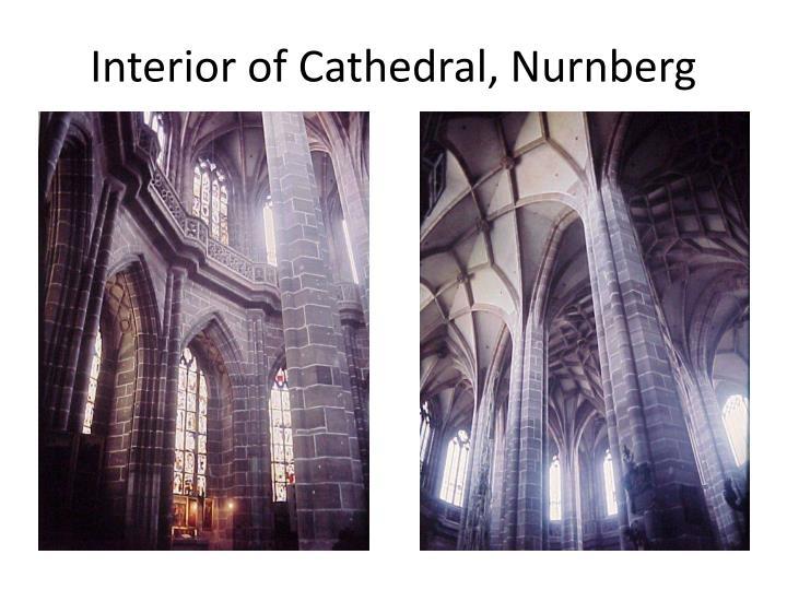 Interior of Cathedral, Nurnberg