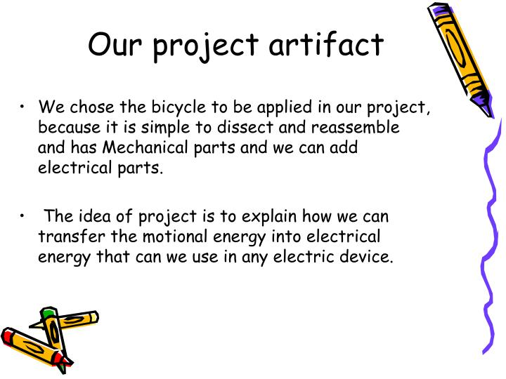Our project artifact