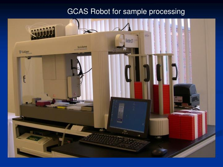 GCAS Robot for sample processing