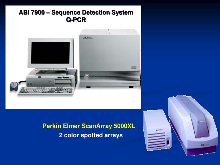 ABI 7900 – Sequence Detection System