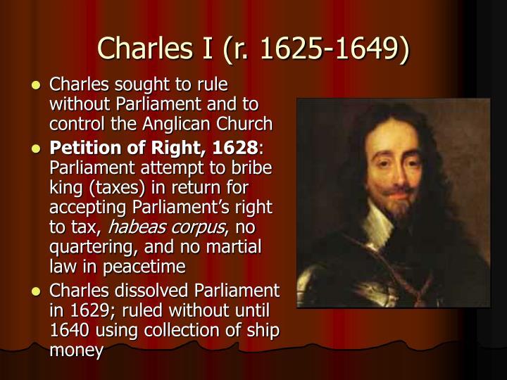 Charles I (r. 1625-1649)
