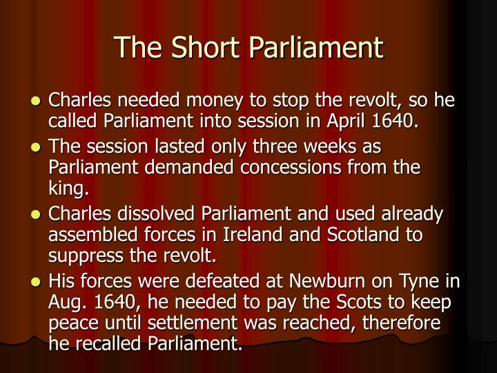 The Short Parliament