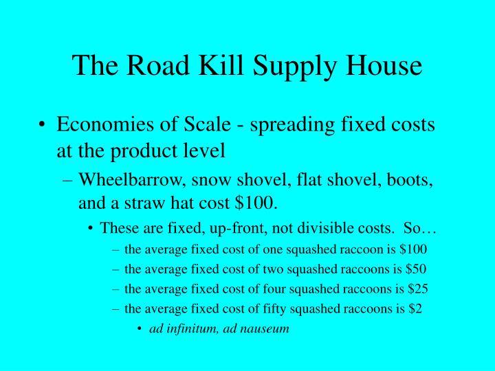 The Road Kill Supply House