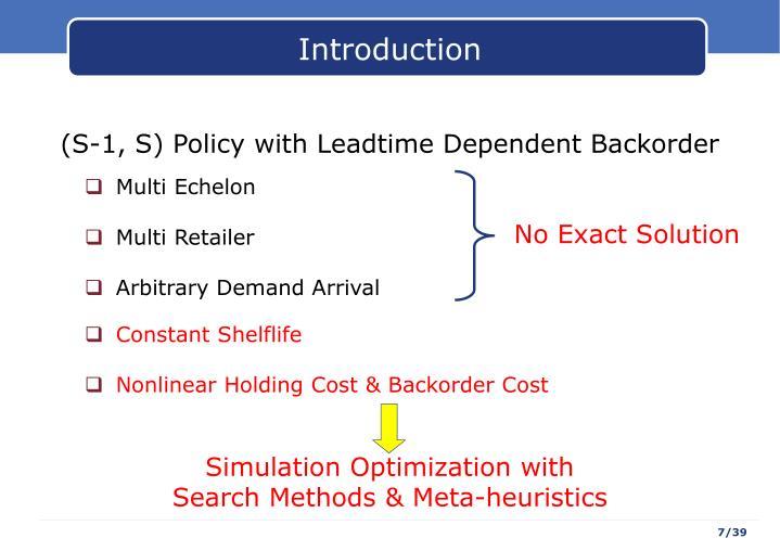 Simulation Optimization with