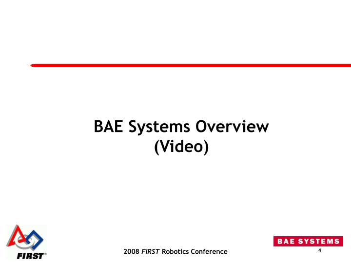BAE Systems Overview