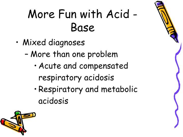 More Fun with Acid - Base