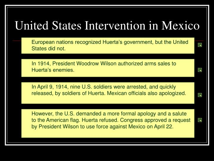 United States Intervention in Mexico