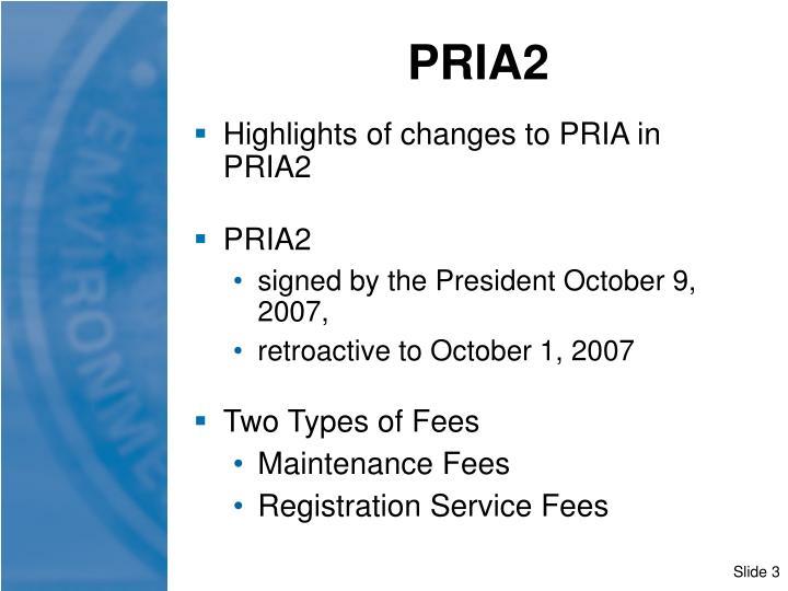 PRIA2