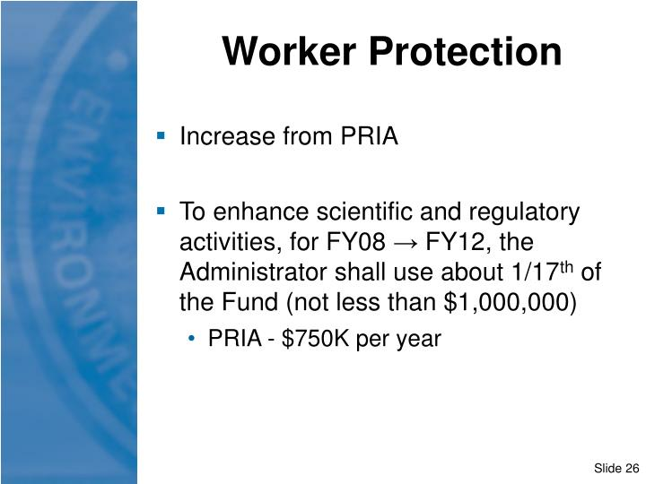 Worker Protection