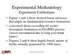 experimental methodology experiment calibrations