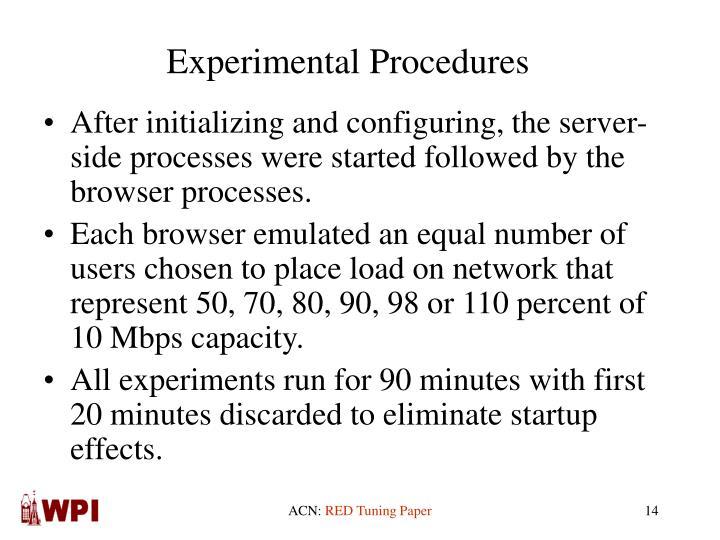 Experimental Procedures