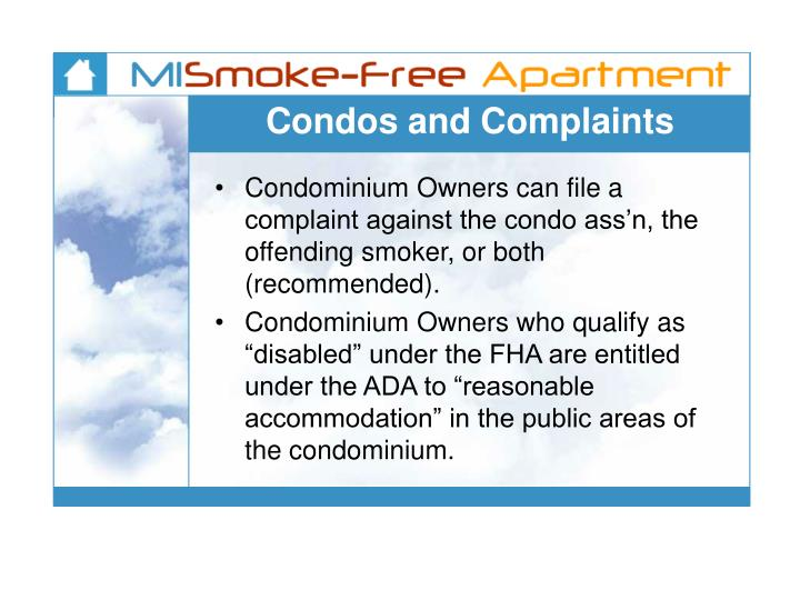 Condos and Complaints
