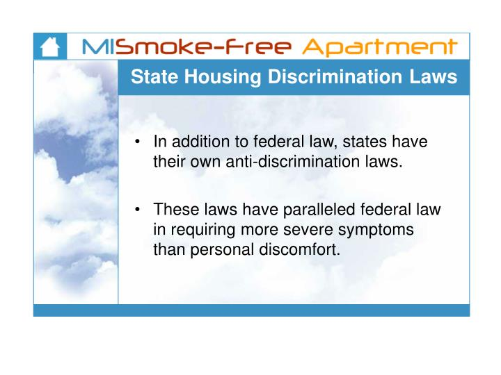 State Housing Discrimination