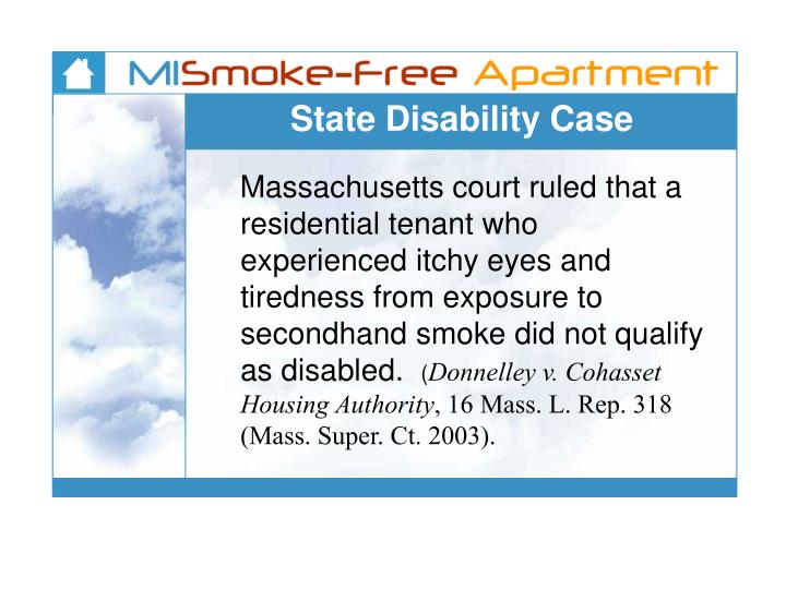 State Disability Case