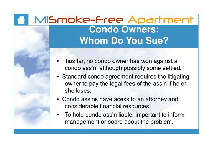 Condo Owners:
