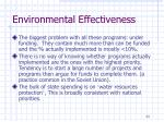 environmental effectiveness3