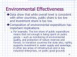 environmental effectiveness4