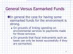 general versus earmarked funds2