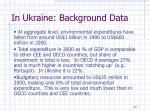 in ukraine background data
