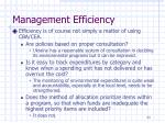 management efficiency2