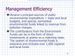 management efficiency3