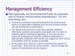 management efficiency7