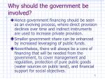 why should the government be involved1