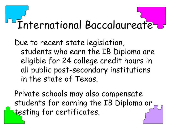 International Baccalaureate