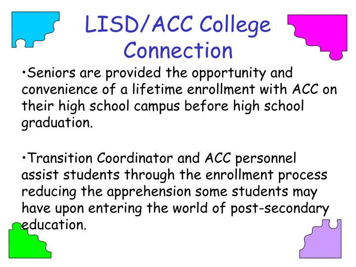 LISD/ACC College Connection