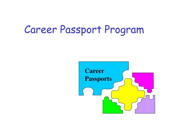 Career Passport Program